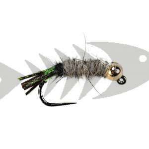 Barbless Tungsten Hares Ear Flashback Tail