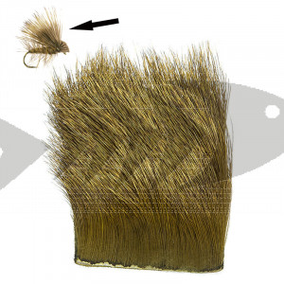 Elk Body Hair col. olive