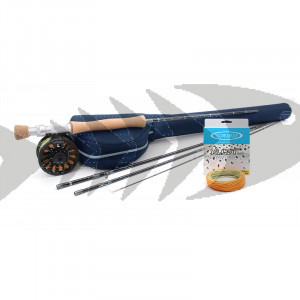 Kit pesca a mosca Vision Silver