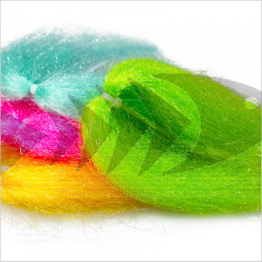Ghost Hair | Materiale sintetico costruzione streamer da luccio - streamer da mare - streamer da trota