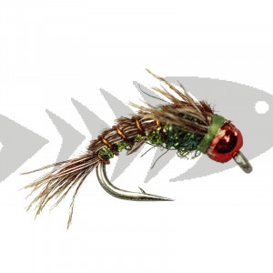 Kyles BH Superflash Pheasant Tail - Olive