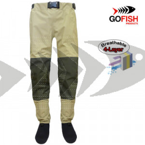 Wader traspirante Fly Fisherman Travel-Pants