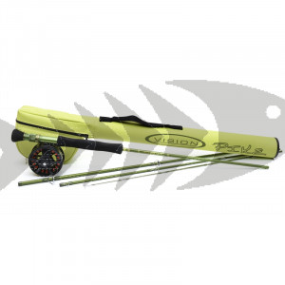 Kit pesca mosca luccio Vision Pike