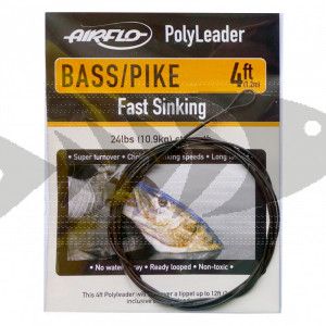 Polyleader Airflo Fast Sinking Bass/Pike 4 ft