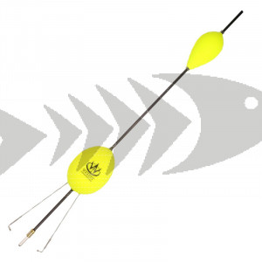 Renkencatcher (Galleggiante per coregone) colore giallo