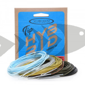Vision Hybrid Tapered Tips 7,5`ft   Tip conico pesca mosca - galleggiante - intermediate - sink 3 -sink 5