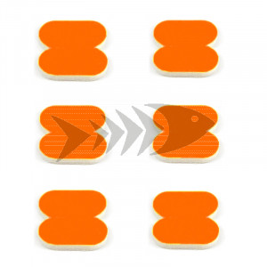 FFM Butterfly Foam Indicator large Fl.orange