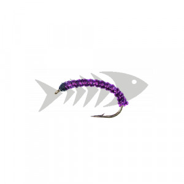 Camola mod. UV10 purple ribbed