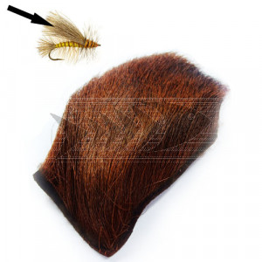 "Pelo di alce "" Elk Rump "" col. brown"