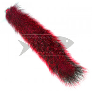 "Coda di scoiattolo "" Squirrel tails "" col. red"