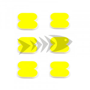 FFM Butterfly Foam Indicator medium Fl.yellow