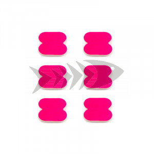 FFM Butterfly Foam Indicator small Fl.pink