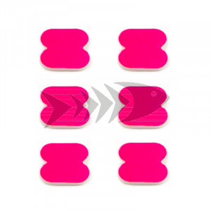 FFM Butterfly Foam Indicator medium Fl.pink