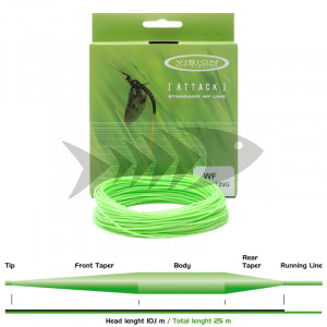 attack vision fly line