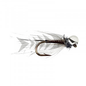 Silver Partridge Off Bead Nymph