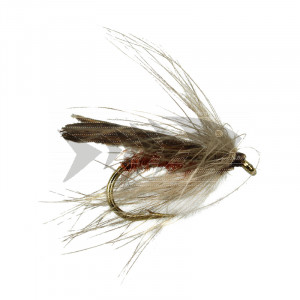 CDC - Brown Stocking Wings Caddis