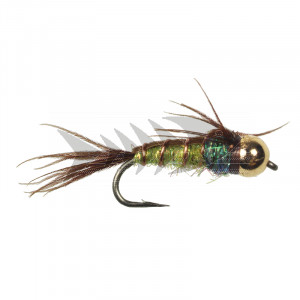 Tungsten Superflash Pheasant Tail Yellow