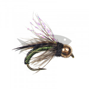 Tungsten Wired Caddis Olive