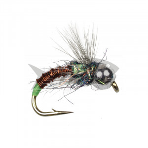 Tungsten Copper Wire Caddis Green